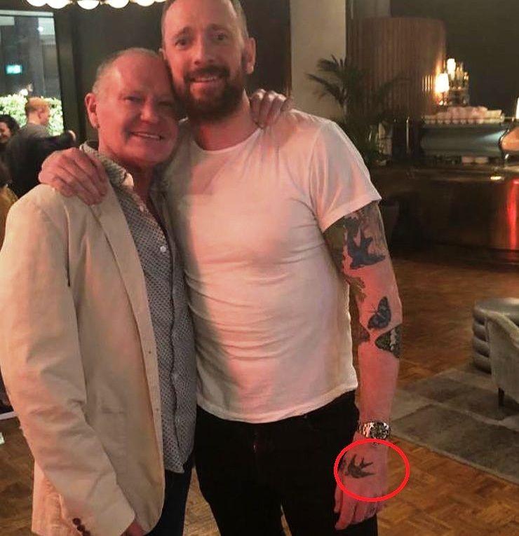 Dove-Sir Bradley Wiggins tattoos