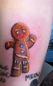 Ed Sheeran Gingerman from Shriek Tattoo