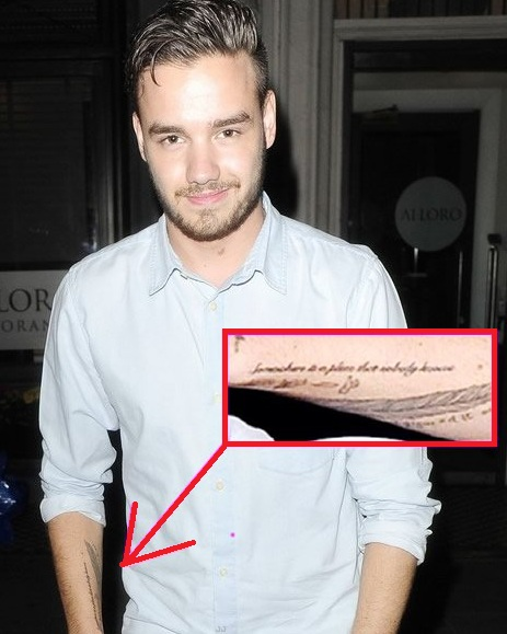 Liam Payne Arm Tattoo