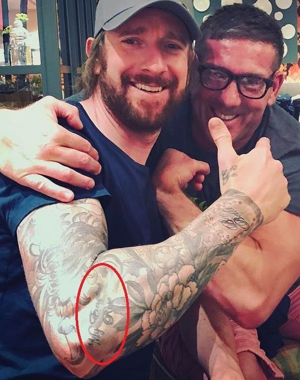 My english Rose- Sir Bradley Wiggins tattoos