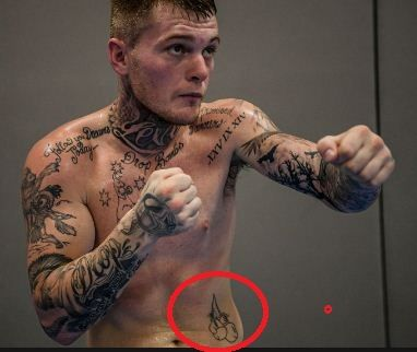 Pair of boxing gloves-Daniel Jason Lewis tattoos