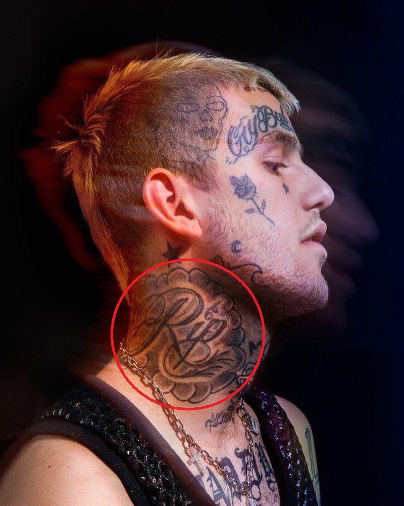 RIP-Lil peep tattoo