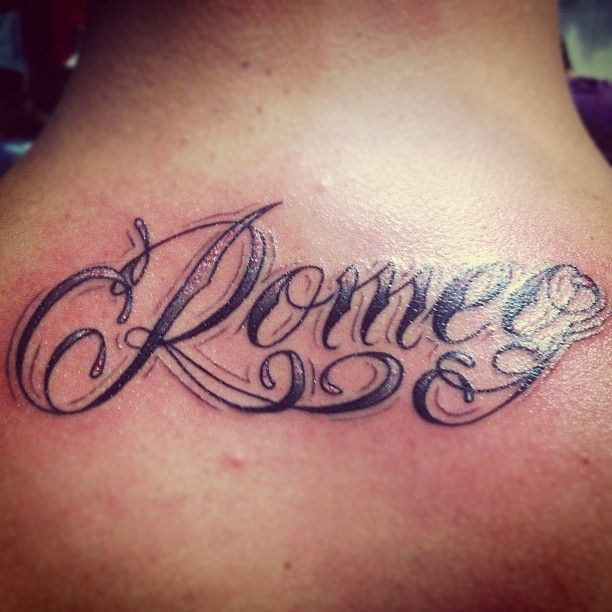 Romeo-Maluma tattoo