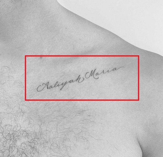 SHawn Mendes-Aaliyah Maria-Tattoo