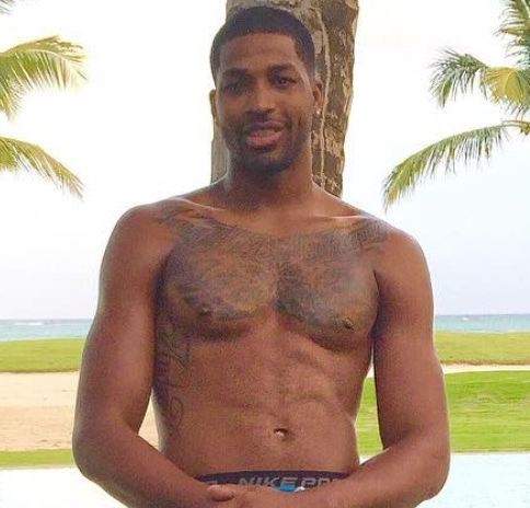 Tristan Thompson Chest Tattoo