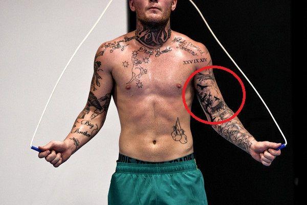 landscape -daniel jason lewis tattoos