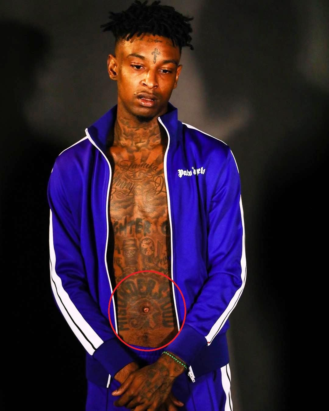 misunderstood-21 savage tattoos