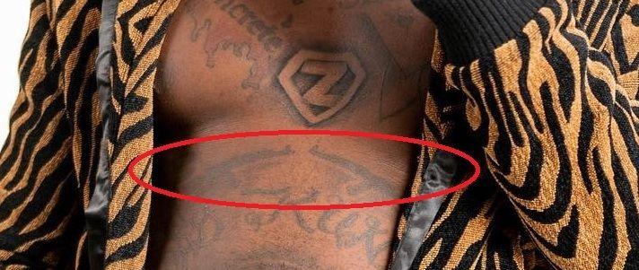 sniper guns-kodak black tattoos