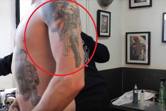 three angles- Bradley Wiggins tattoos