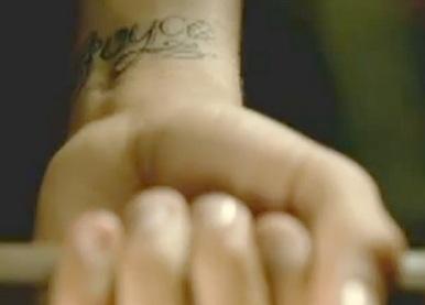 Chris Brown Joyce Tattoo