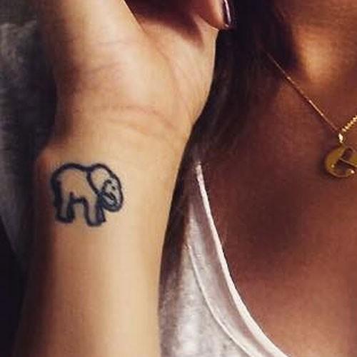 Eleanor ELEPHANT Tattoo