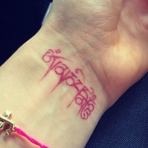 Ellie-Goulding-Tibetan Tattoo