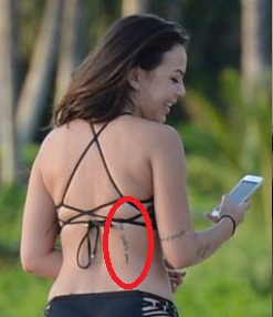 Janel-Parrish-Back-tattoo