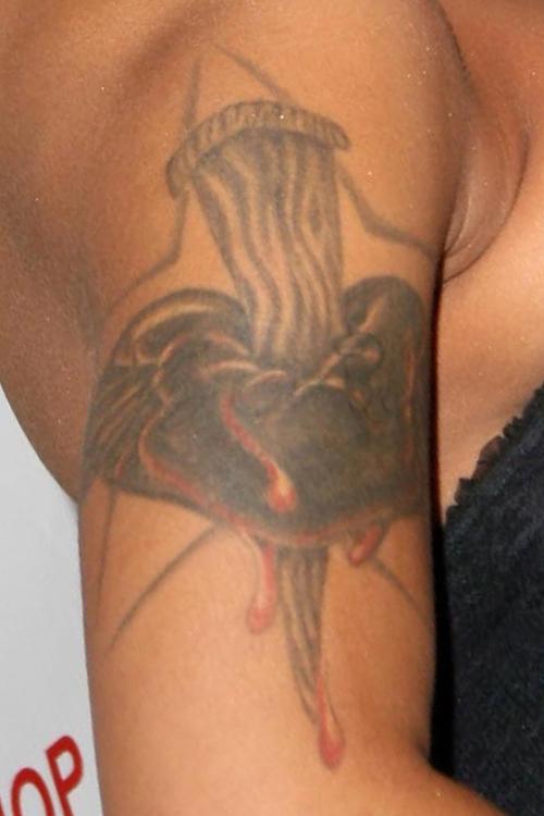 Keyshia-Cole-Heart-Tattoo
