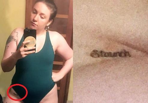 Lena-Dunham-Staunch-Thigh-Tattoo