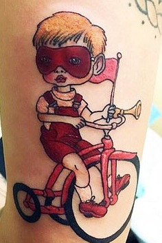 Melanie-Martinez-Bicycle-Boy-Tattoo