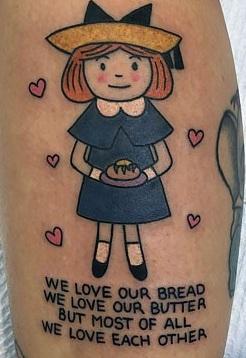Melanie-Martinez-Madeline-Tattoo