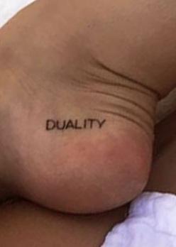 alexis ren duality tattoo