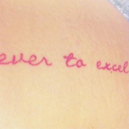 Jojo-Ever-To-Excel-Tattoo