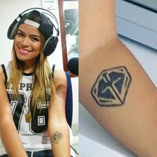 Karol-G-Logo-Tattoo