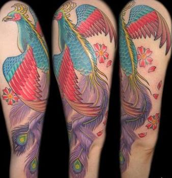 Margaret Cho Pheonix Tattoo