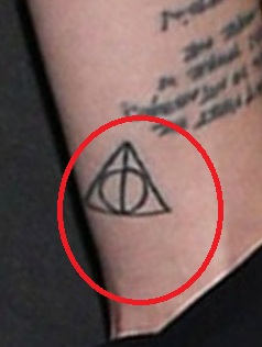 Skylar Deathly Hallows Tattoos