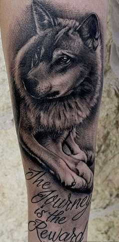 Skylar-Grey-Wolf-Tattoo