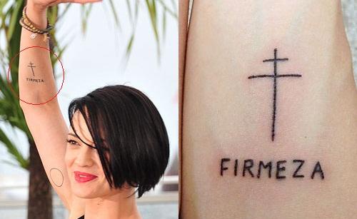 asia argento firmeza tattoo