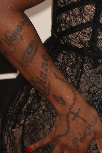 fantasia arm tattoo