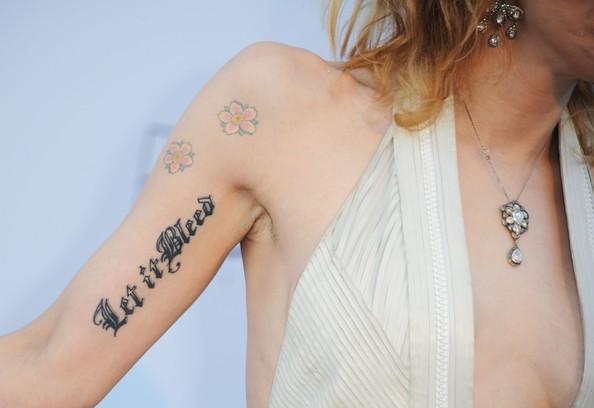 let it bleed tattoo