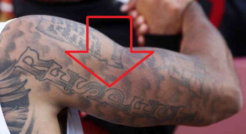 Colin Kaepernick RESPECT Tattoo