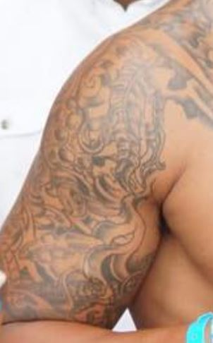 Dak Prescott Right Bicep Tattoo