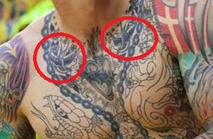Daniel Agger Chest Tattoo