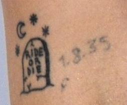Jemima kirke left upperarm tattoo