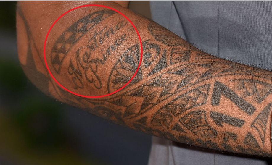 Jerome Boateng Martina Prince Tattoo