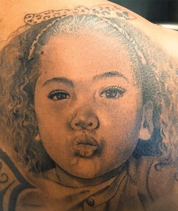 Jerome Lamia Tattoo