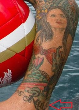Raul Meireles Left Arm Raul Tattoo