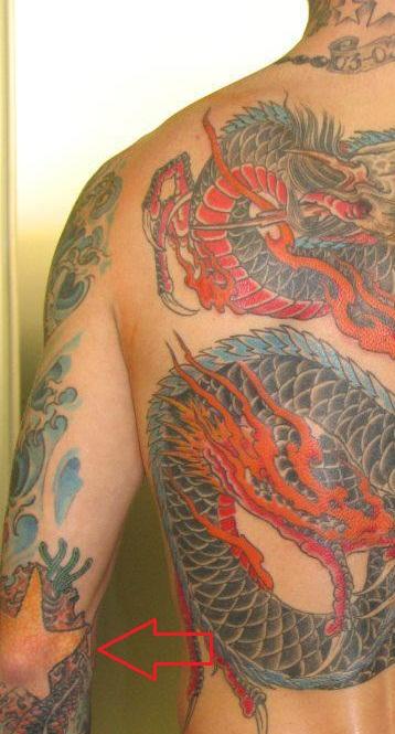 Raul Meireles Right Arm Star Tattoo