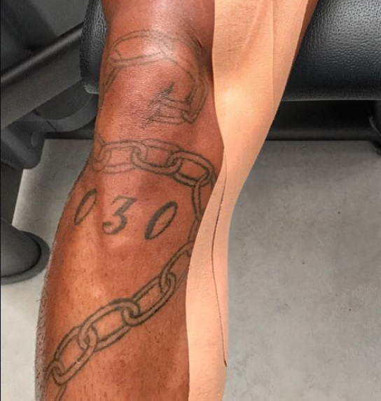 kevin prince boateng chain tattoo
