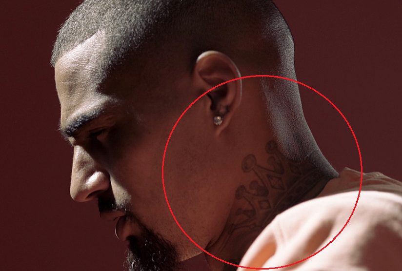 kevin prince boateng crown tattoo 1