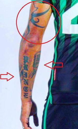 kevin prince boateng forearm tattoo