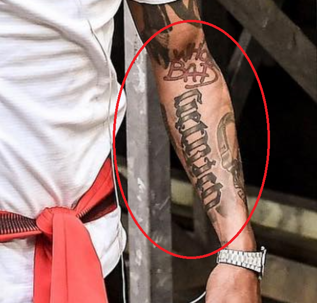 kevin prince boateng get rich tattoo