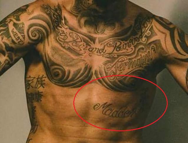kevin prince boateng side tattoo