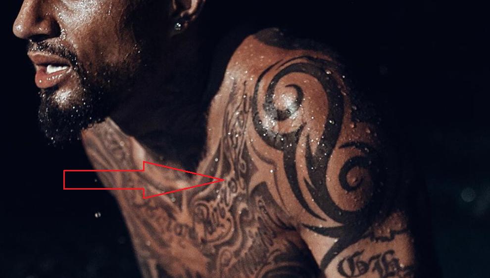 kevin prince boateng tribal tattoo