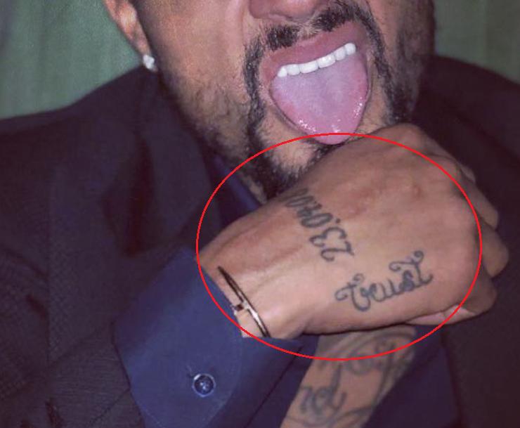kevin prince boateng trust date tattoo