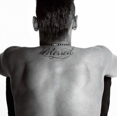 neymar jr blessed tattoo
