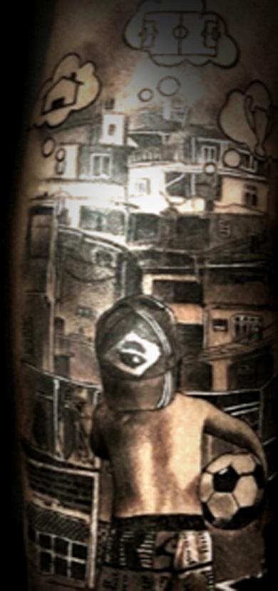 neymar jr dreams tattoo
