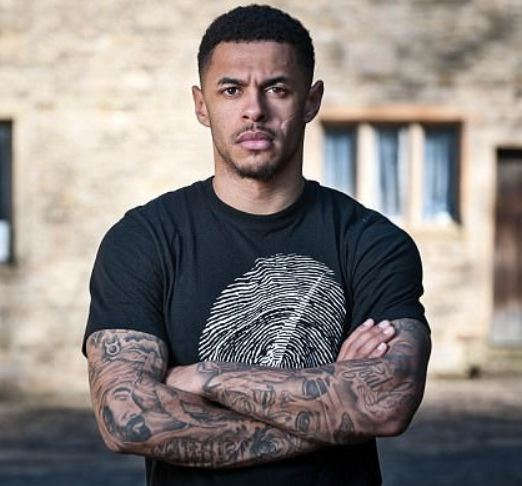 Andre Gray Arm Tattoos