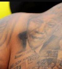 Andre Gray Nelson Mandela Tattoo