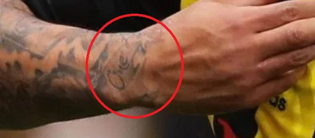Andre Gray One Tattoo